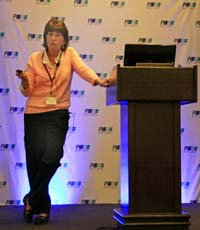 GE's Connie Chick talking about PROFINET