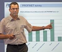 XAVER SCHMIDT REPORTING ON PROFINET AT THE 2011 PI MEETING