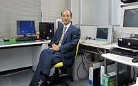 JPO's Motoyoshi San in the new test lab