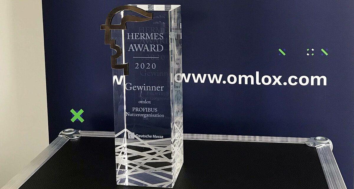 Hermes Award 2020 for omlox